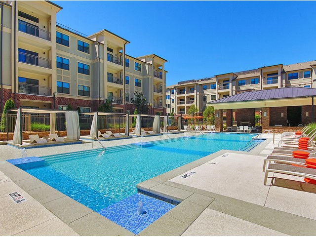 Image of Resort-Style Pool for The Mille Brookhaven Apartment Homes