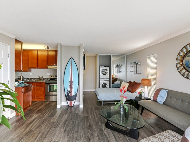 Image of Faux Hardwood Floors for Oceanaire Apartment Homes
