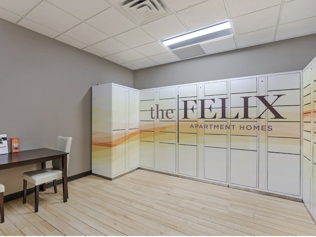 Image of Parcel Lockers for The Felix Apartment Homes