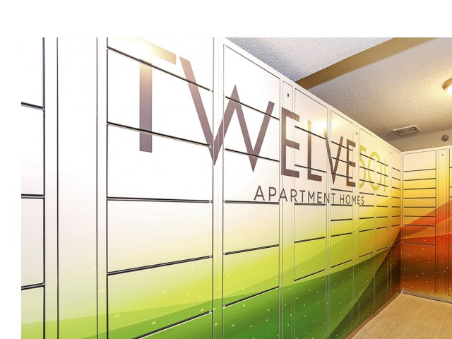 Image of Package Lockers Available for Twelve 501 Apartment Homes