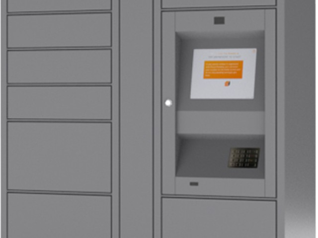 Image of Parcel Pending Package Lockers for The Social North Charles