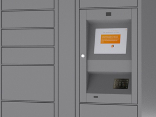 Image of Parcel Pending Locker System for Solhaus Apartments