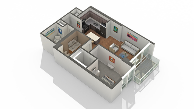 Floor Plan | Arrive LEX Apartment Homes for Rent in Chicago IL 60616
