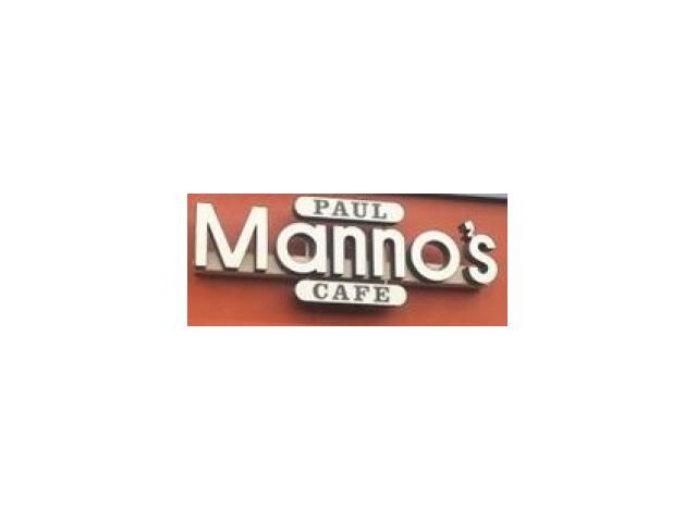 Paul Manno's Cafe Logo