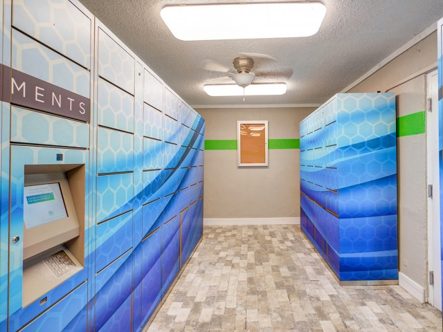 Image of Parcel Pending Package Lockers for ULake Student Spaces