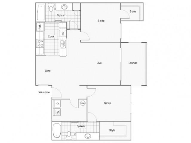 Floor Plans | Apartments in Fountain Hills, AZ | Arrive Fountain Hills