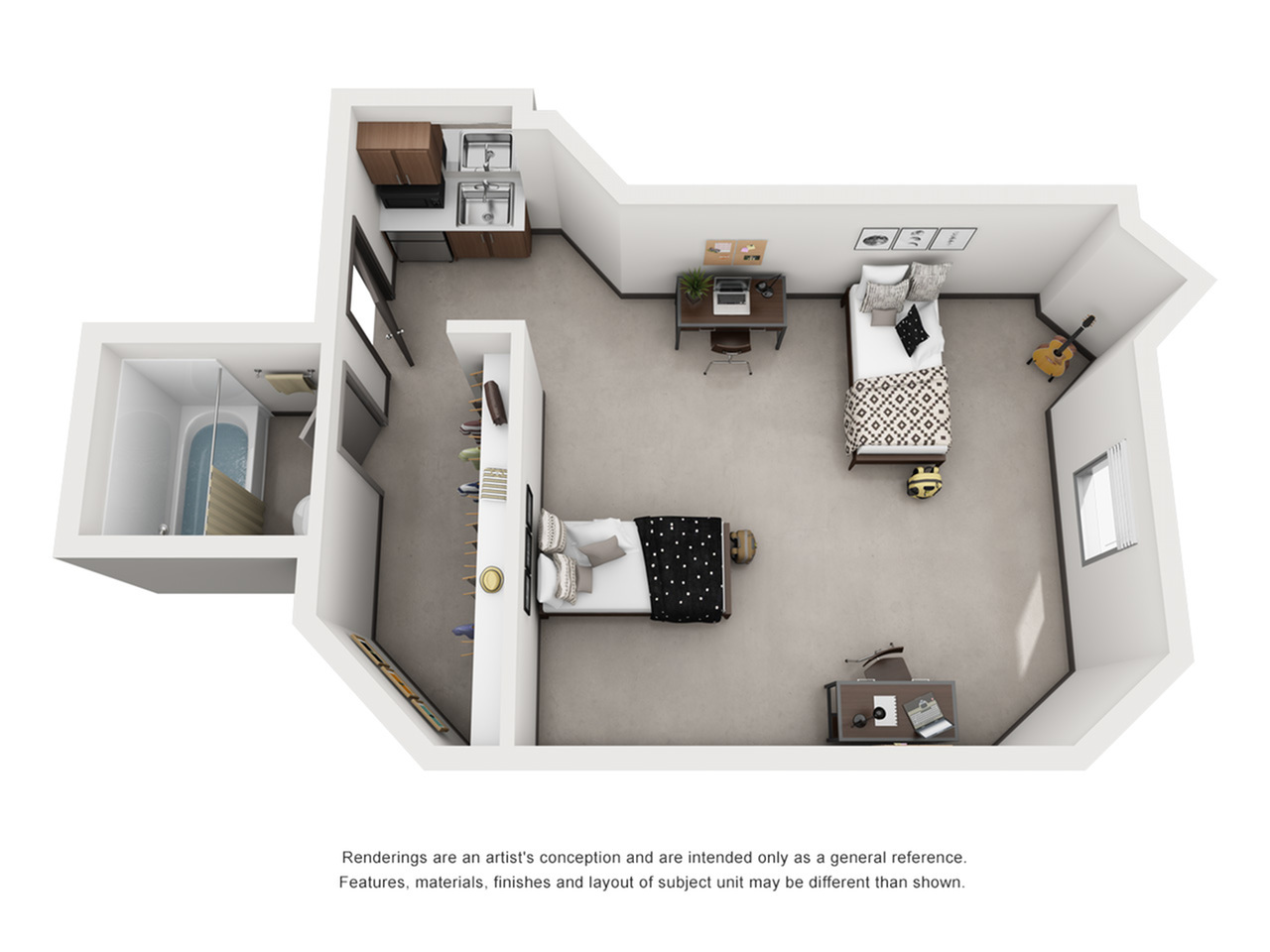 Private Dorms in Austin TX | Dobie Twenty21 Student Spaces