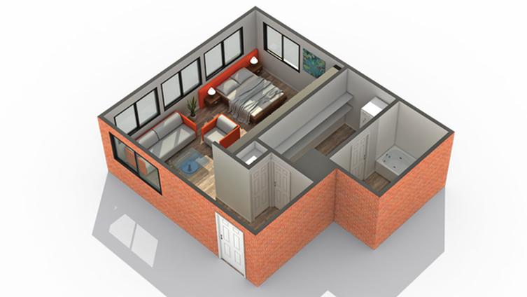 Studio/ 1 Bath Apartment in Wheaton IL | ReNew Wheaton Center