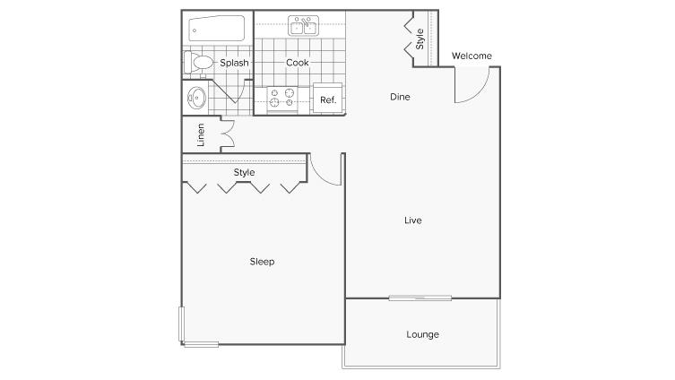 Floor Plans | ReNew Flagstaff Apartment Homes for Rent in Flagstaff AZ 86001
