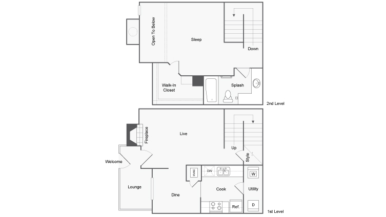 Floor Plan Image | ReNew Andrews Apartment Homes for Rent in Midland TX 79707