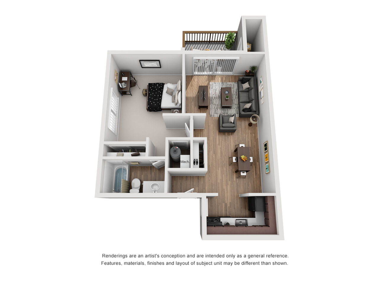 Floor Plan 7 | FSU Off Campus Housing | The Social at Tallahassee
