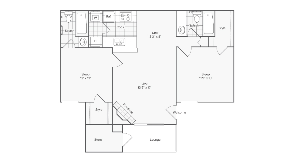ReNew McKinney Apartment Homes for Rent in McKinney TX 75069