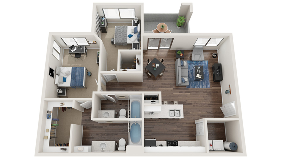 Floor Plans | Apartments in Fountain Hills, AZ | Arrive Fountain Hills