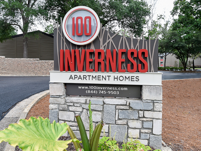Location of 100 Inverness Apartment Homes