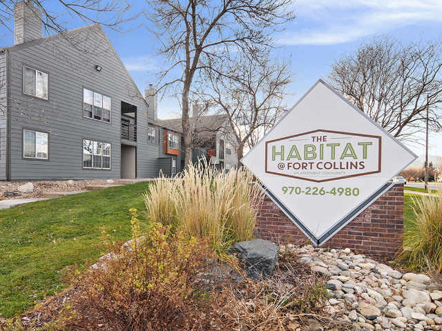 Location of The Habitat @ Fort Collins