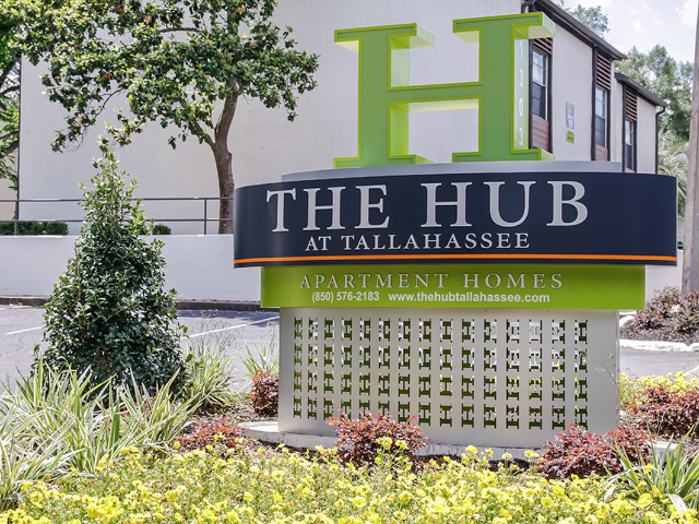 Location of The Hub at Tallahassee