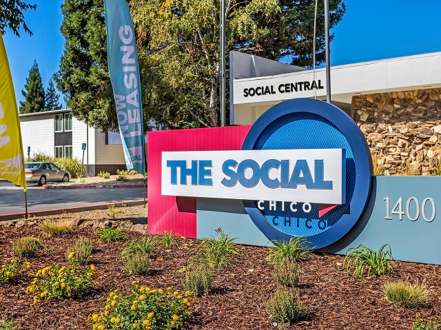 Location of the Social Chico The Cottages