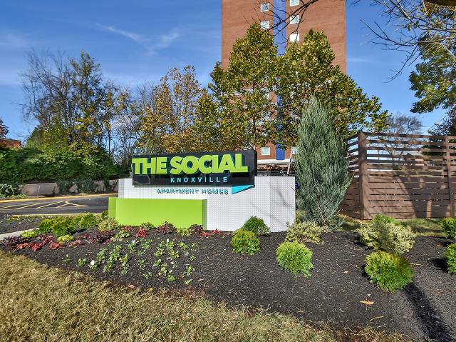 Location of The Social Knoxville