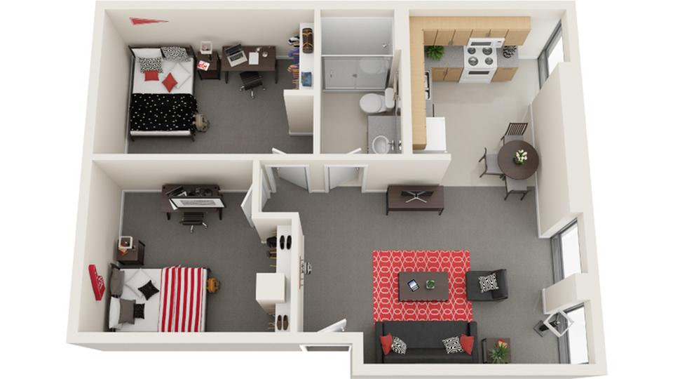Floor Plan Image | The Icon St Louis MO 63103