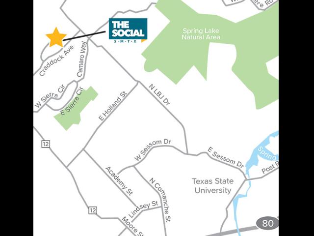 Location of The Social SMTX