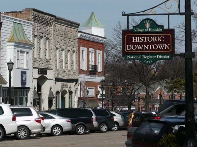 Downtown Hinsdale