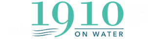 1910 on Water Logo