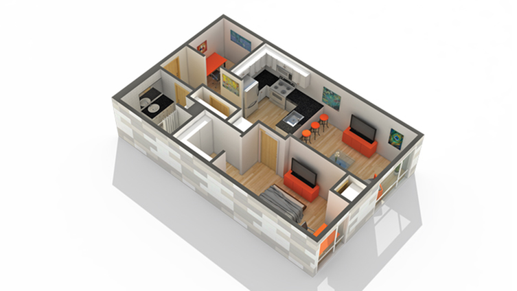 Floor Plan Image | Solhaus Tower