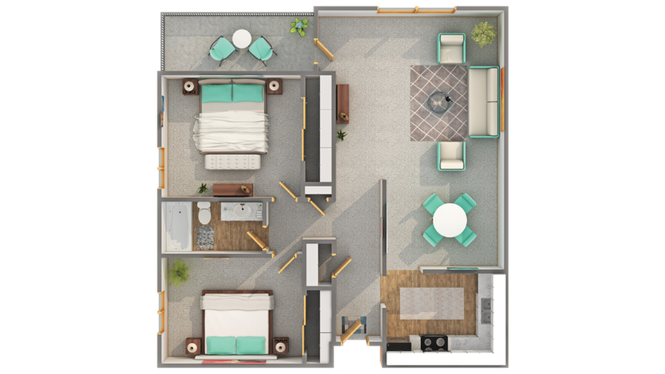 Floor Plans | ReNew 78 West Apartment Homes for Rent in Madison WI 53711