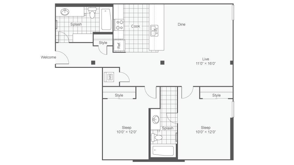 Floor Plan Image | Rocket Transfer Loft