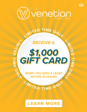 Simply sign a lease within 72 hours & receive a $1,000 Gift Card at move-in! *New leases only.