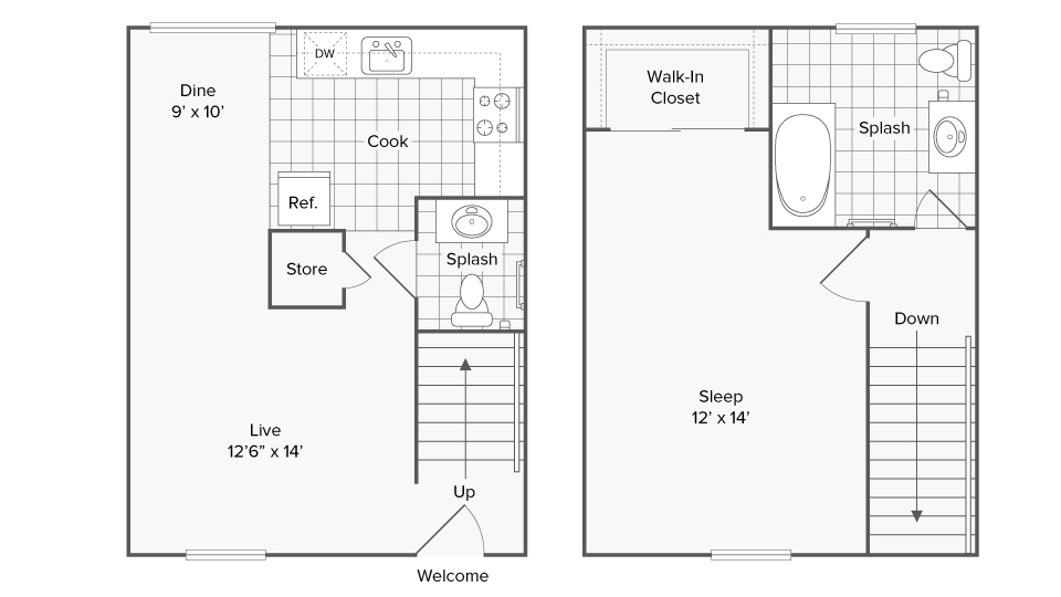 Floor Plan Image   ReNew Amherst
