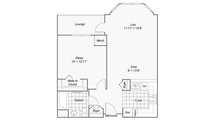 Floor Plan Image   Zen Easton