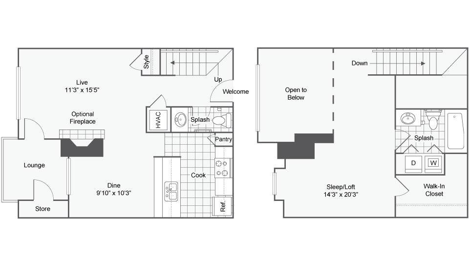 Floor Plan Image   Arrive Crofton