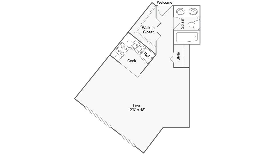 Floor Plan Image | Arrive Silver Spring