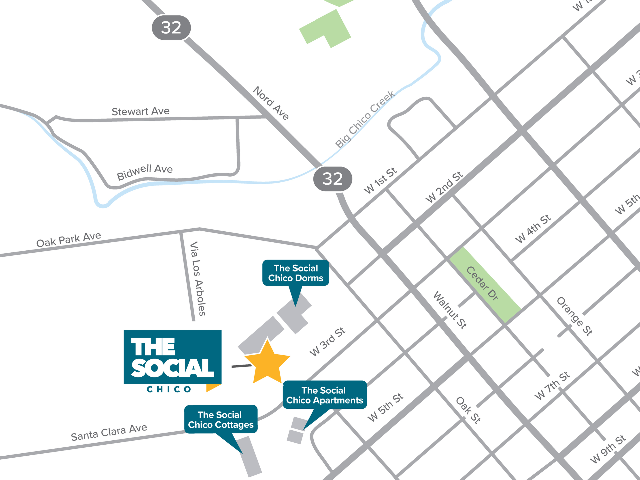 Location of The Social Chico