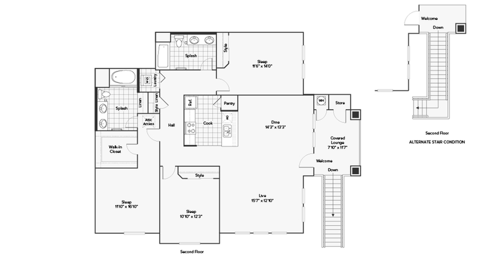 Arrive at Rancho Belago Floor Plan Image