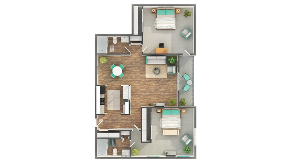 Floor Plan   ReNew on York Apartment Homes for Rent in Bensenville IL 60106