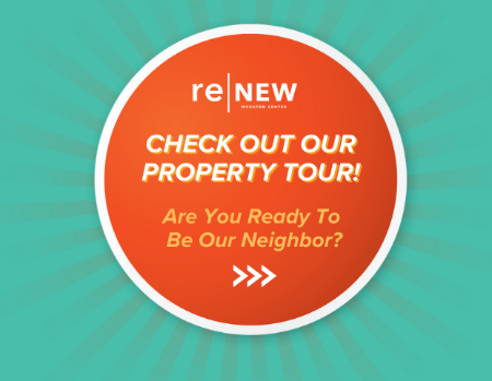 ReNew Wheaton Center is the perfect place to call home. Our apartments feature the latest in cutting edge technology and the perks to make your living space complete. Click to view tour!
