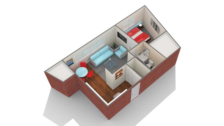Floor Plan Images | Arrive Eden Prairie