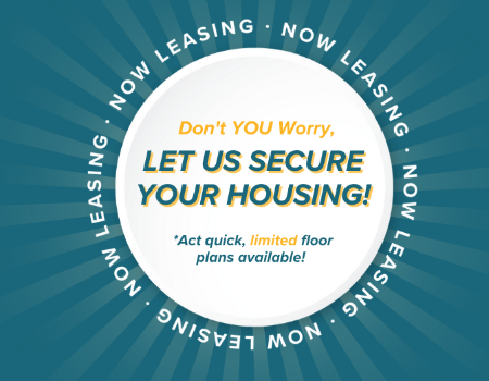 It is not too late, we have you covered! e are currently securing housing options for all students. But act quick - as we are filling up.
