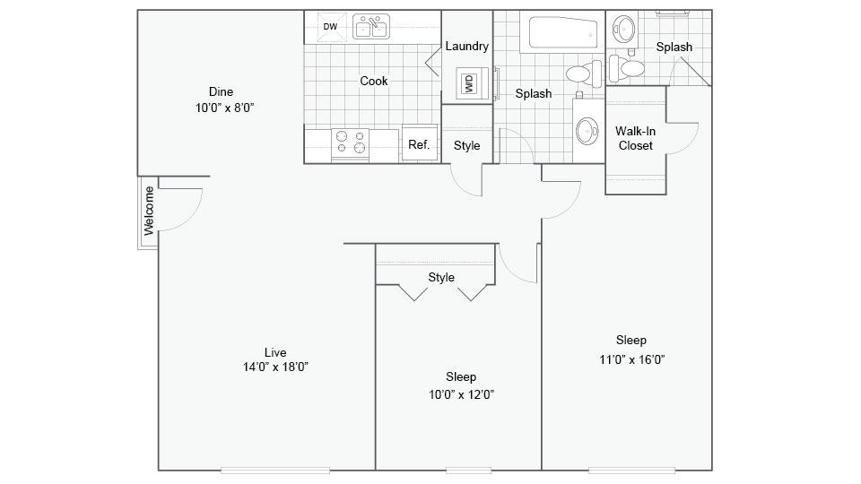 Floor Plan Images | Williamsburg South