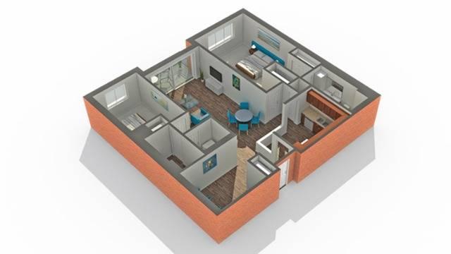 Floor Plan   Apartments Vernon Hills IL   Arrive Town Center