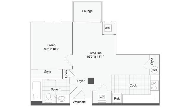 Floor Plan Image   Arrive Wheaton