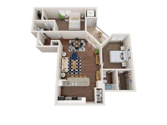Floor Plan Images | Arrive Fort Lee