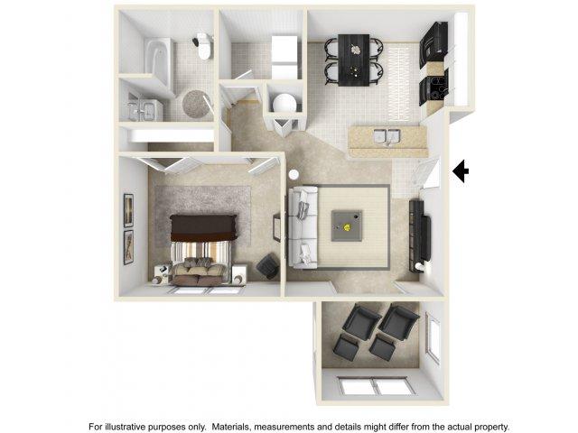 Bedroom Apartments In Columbia SC Deer Meadow Village - One bedroom apartments in columbia sc