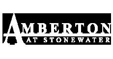 Amberton at Stonewater Logo | Apartments in Cary NC