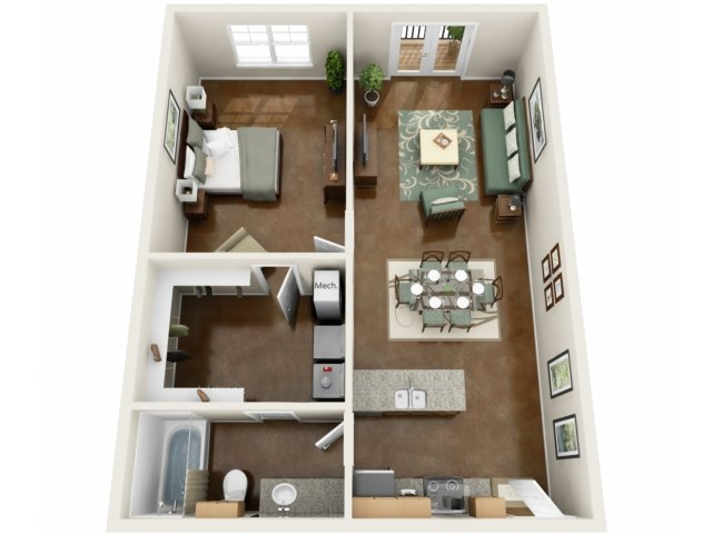 Floor Plan | NorthPoint at 68 2