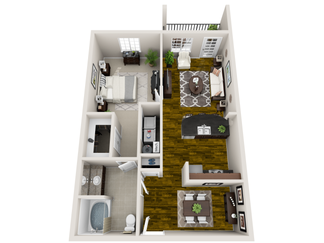 1 Bedroom Apartments in Raleigh NC