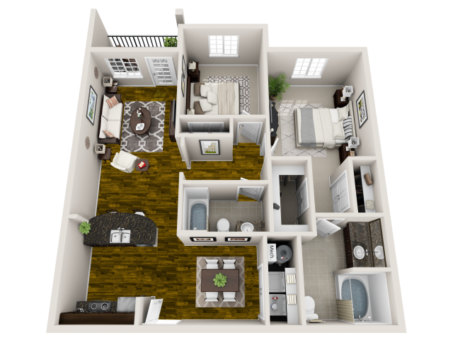 2 Bedroom Apartments in Raleigh NC 3
