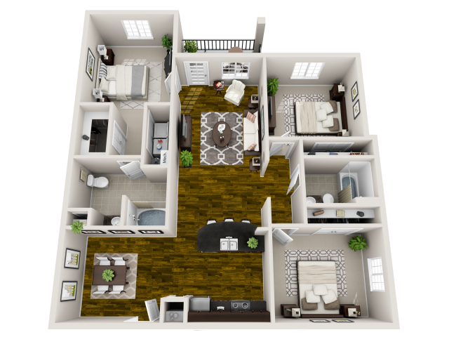 3 Bedroom Apartments in Raleigh NC. 1  2  and 3 Bedroom Apartments in Raleigh NC   Bacarra